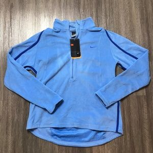 Nike Therma-Fit Light Blue Fleece Pullover
